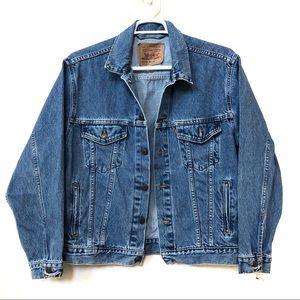 Vintage Levi's Jeans Trucker Jacker Size M